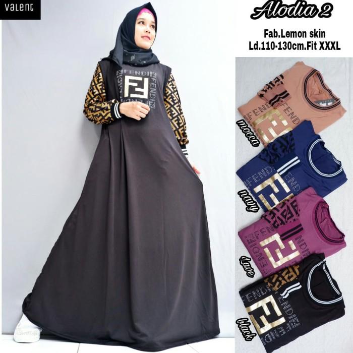 Jual Alodia 2 Dress Dress Maxy Dress Casual Terlaris By Valent Kota Surakarta Erwapparel Tokopedia