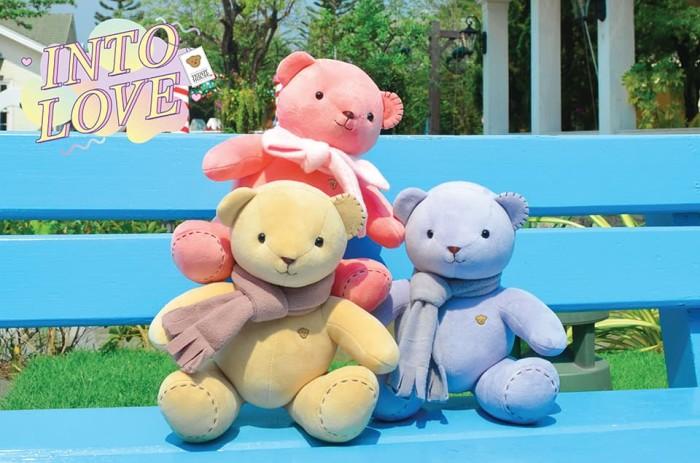 harga Boneka teddy baby logoe - beige Tokopedia.com