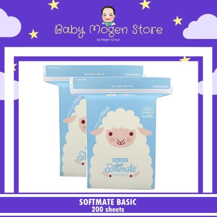harga Softmate basic tissue / tisu basah / tisu kering bayi / kapas Tokopedia.com