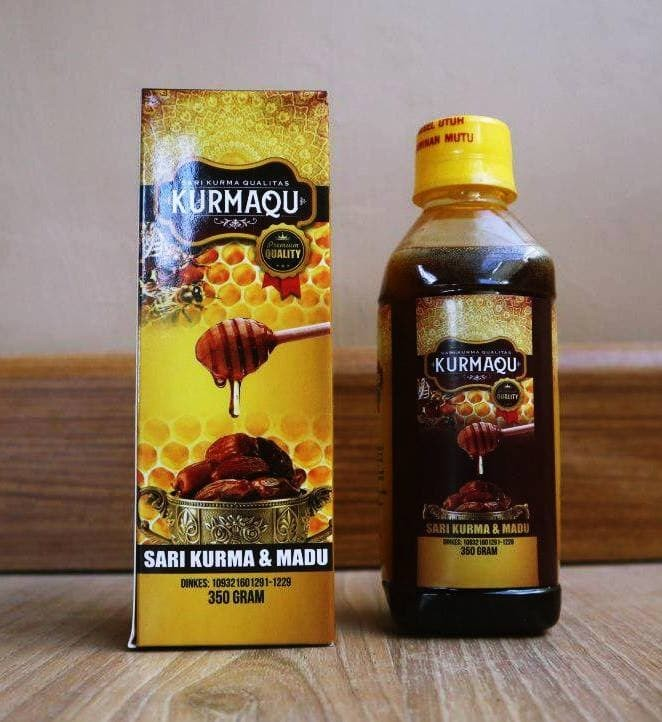Foto Produk Sari Kurma & Madu | KURMAQU 350 GRAM 100 % ORIGINAL MURAH BERKUALITAS dari Assyffa Herbal