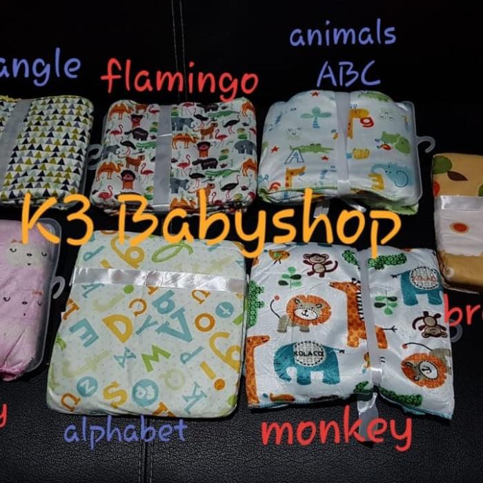 Foto Produk Selimut Carter Double Fleece tanpa Topi Baby Blanket kado gift bayi dari K3 Babyshop