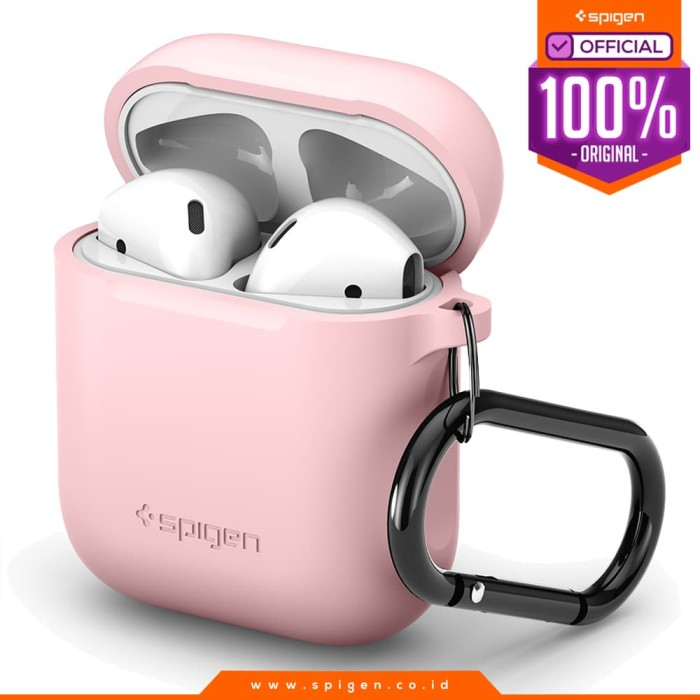 harga Apple airpods case silicone spigen apple airpods pouch original casing - pink Tokopedia.com
