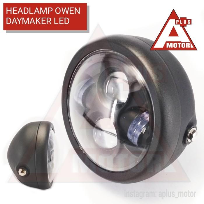harga Headlamp daymaker owen led lampu cb japstyle custom Tokopedia.com