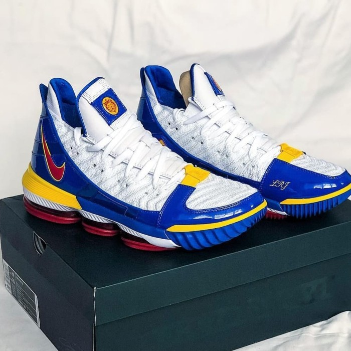 "f921e404f50fb Jual NIKE LEBRON XVI 16 SB SUPERMAN THEMED ""SUPERBRON"" CD2451-100 ..."