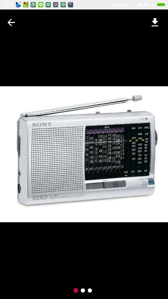 Jual Terlaris RADIO SONY 12 BAND ICF SW 11 - Jakarta Pusat