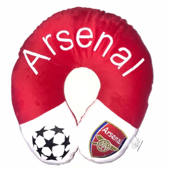 harga Bless toys bantal leher club sepakbola arsenal - bla0001 Tokopedia.com