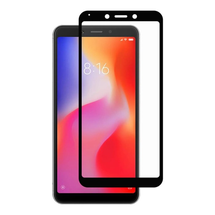 Foto Produk Tempered Glass FULL COVER Xiaomi Redmi 6 dari Cellular Mas