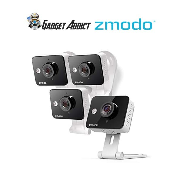 harga Zmodo wireless two way audio hd home security camera (4 pack) Tokopedia.com
