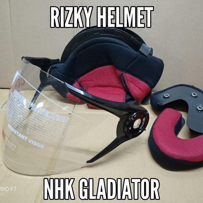 harga Busa helm + kaca helm nhk gladiator Tokopedia.com