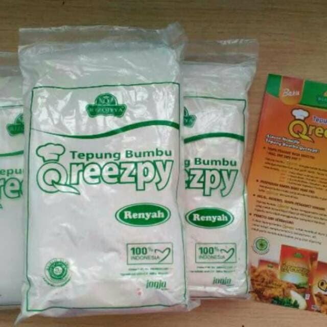 Foto Produk Qreezpy Tepung Bumbu Non MSG 900 g dari instore9088