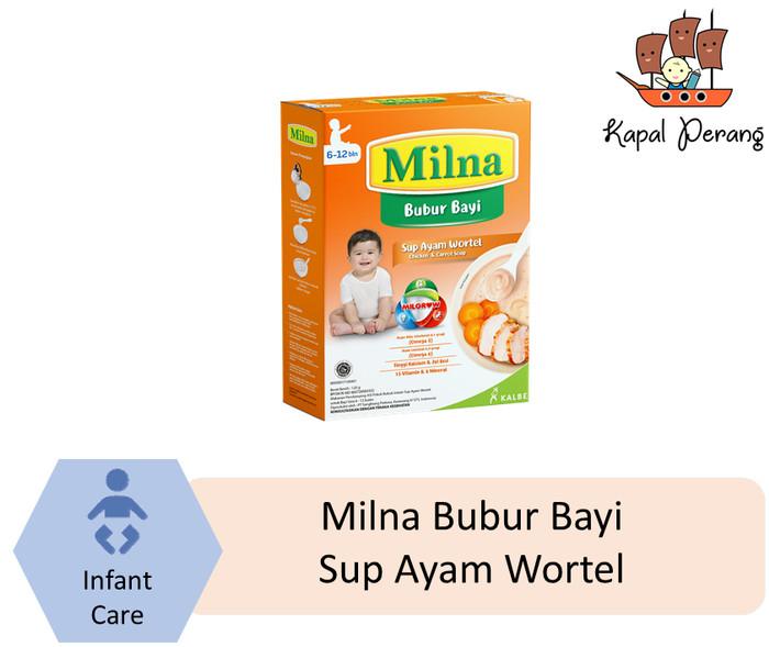 harga Milna bubur bayi hati sup wortel ayam 120 gram Tokopedia.com