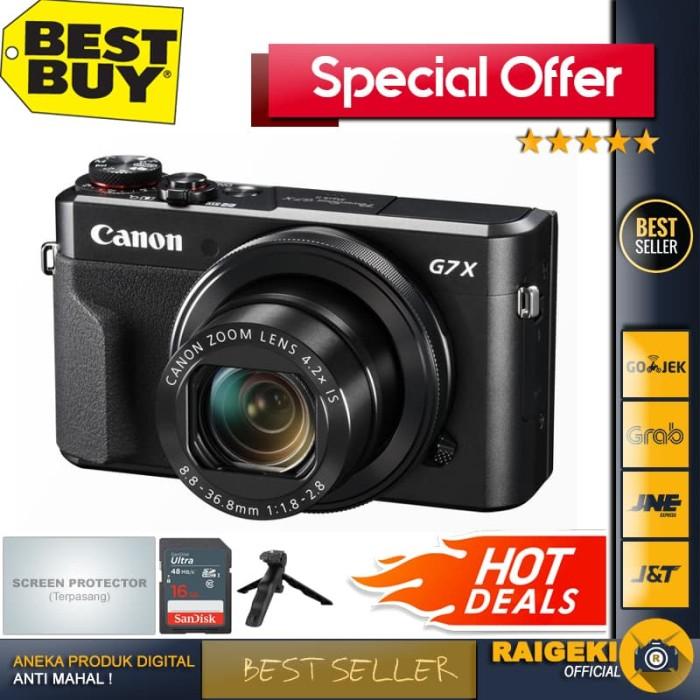 harga Canon powershot g7x mark ii Tokopedia.com
