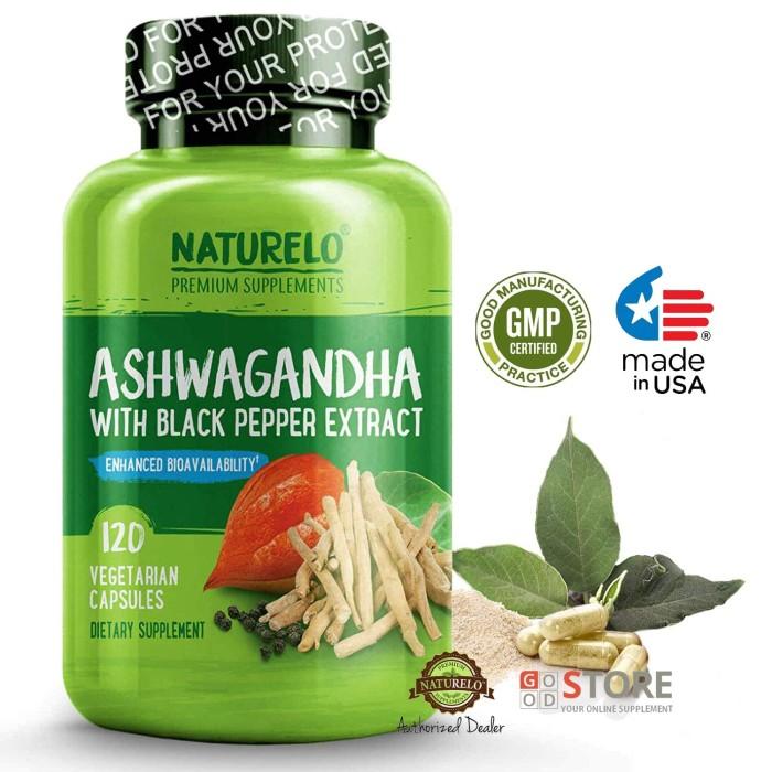 Jual NATURELO - Ashwagandha (Organic Root Powder) - 120 capsules - DKI  Jakarta - Good Store Commerce | Tokopedia