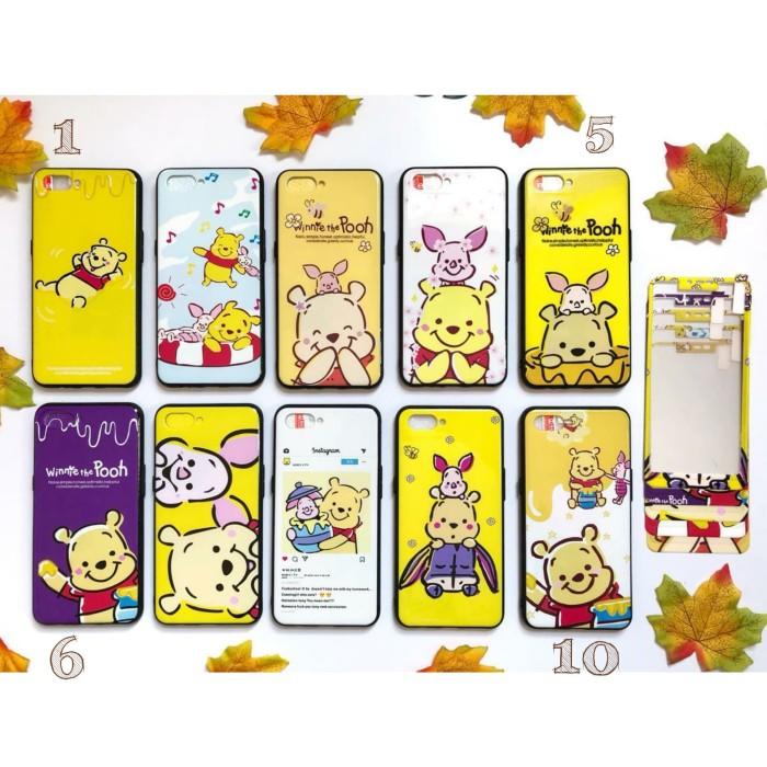 harga Pooh n friend oppo a3s f9 realme c1 realme 2 pro case tempered glass Tokopedia.com