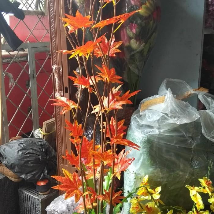 Jual Rangkaian Ranting Bambu Daun Plastik Bunga Hias Kota Bogor Fatih Bunga Plastik Tokopedia