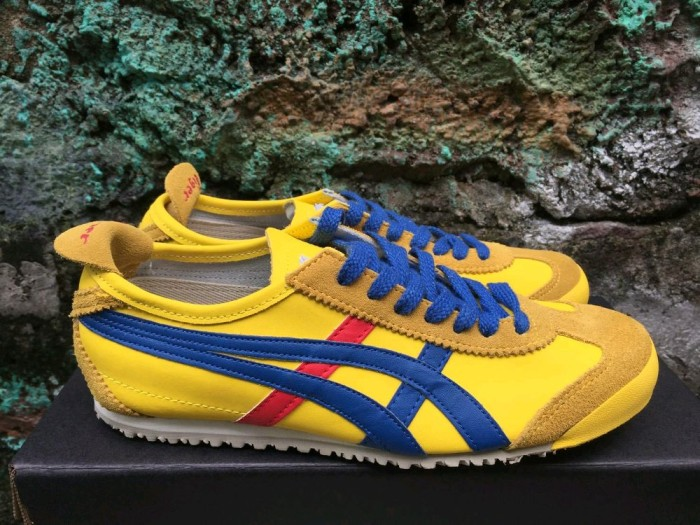 lowest price 6e5d8 c68d3 Jual PREMIUM ASICS ONITSUKA TIGER MEXICO 66 YELLOW BLUE RED JDNM - Kota  Surabaya - Sonic_Mart | Tokopedia