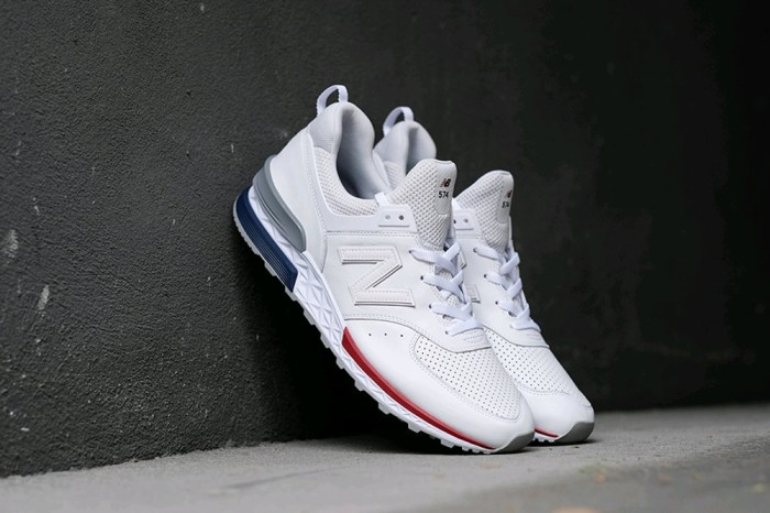 buy popular efa0f 0ae05 Jual TERJAMIN NEW BALANCE 574 SPORT WHITE RED GREY JDNM - Kota Surabaya -  Raja_Mart | Tokopedia