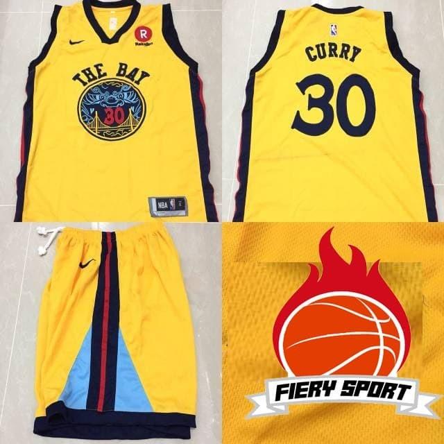 c5ba38729ae Jual Original produk Terlaris!!! Jersey Basket NBA Golden State ...