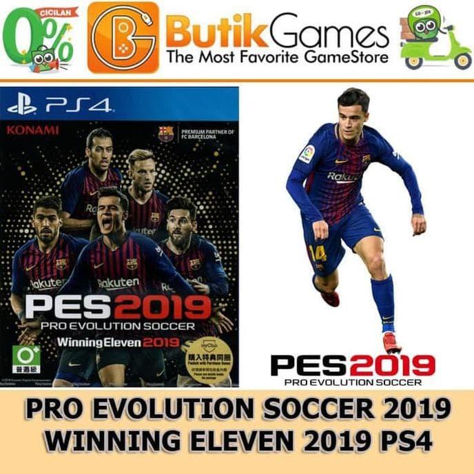 Jual Baru PES 2019 PS4 Winning Eleven 2019 PS4 Berkualitas - DKI Jakarta -  Maja Silvana store | Tokopedia