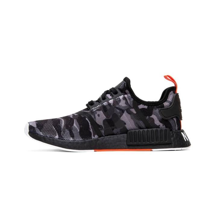 8af86e89b Jual Adidas NMD R1 NYC Camo Black Original Sneakers - Eclat Sneakers ...