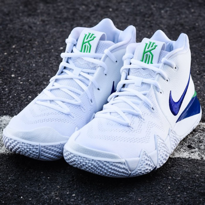 outlet store 97abb da871 Jual Sepatu Basket Nike Kyrie 4 White Deep Royal Blue Green Premium Quality  - Jakarta Selatan - Adhezta Sport | Tokopedia