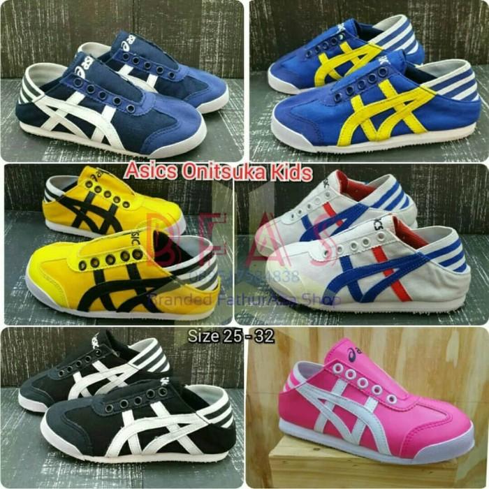 pretty nice dc71d 46d42 Jual Asics Onitsuka Tiger Slip On Unisex Kids Shoes - Jakarta Barat -  Dapoer Amyra | Tokopedia