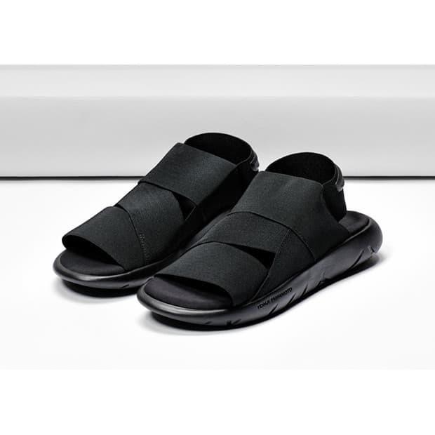 2561fe93b Jual Adidas Sandal Y3 Qasa Yohji Yamamoto Black High Premium ...