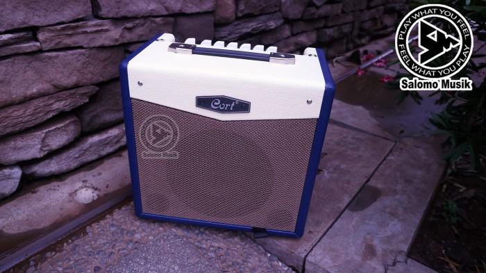 harga Amply / ampli gitar elektrik original cort cm15r db - biru Tokopedia.com