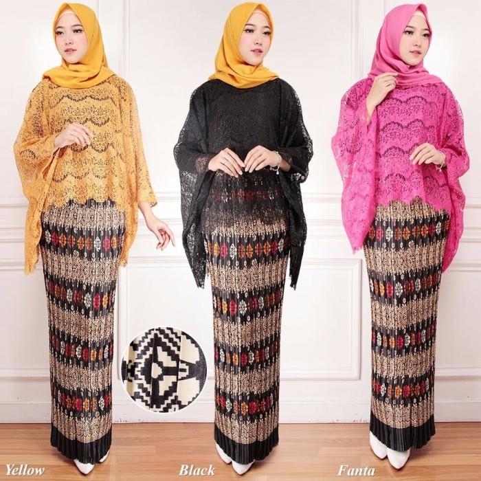 Jual Best Model Kebaya Modern Atasan Brukat Blouse Kalong Kekinian Dki Jakarta Nusa World Tokopedia