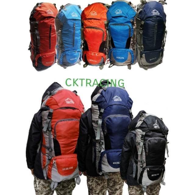 tas carrier 65L pumpkin termurah - tas gunung hiking camping