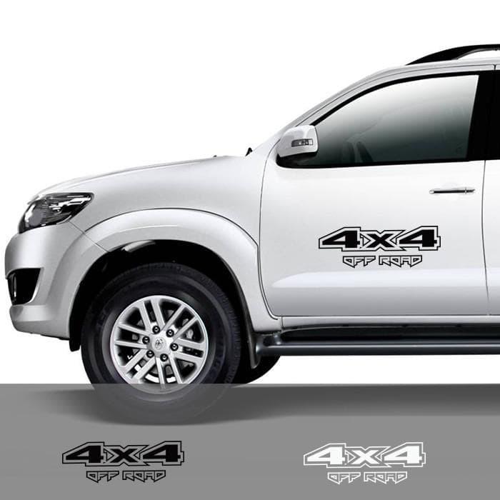 4X4 Off Road >> Jual New Stiker Kaca Pintu Mobil 4x4 Off Road 4wd Cutting Sticke Limited Kota Tangerang Selatan Sabila Khalidi Tokopedia