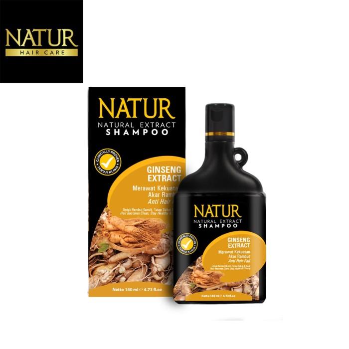 Foto Produk Natur Shampoo Gingseng Extract 140 ML dari Back To Natur