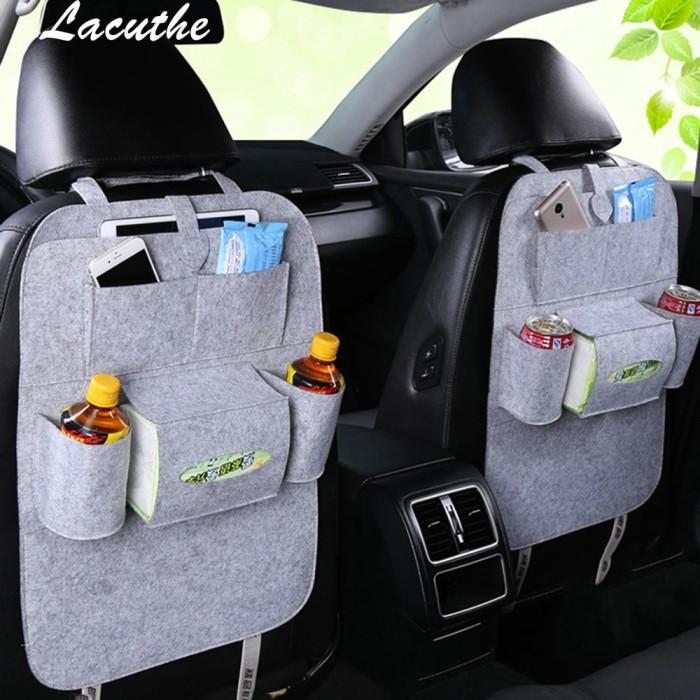 Car Storage Bag >> Jual Car Storage Bag Universal Back Seat Organizer Box Felt Covers Kota Surabaya Tatan Mart Tokopedia
