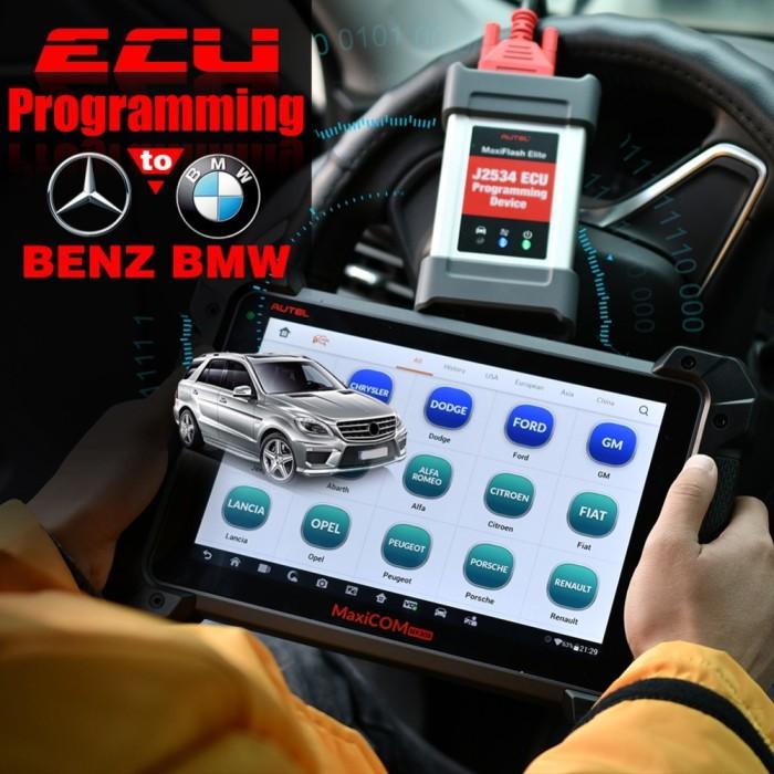 Jual Autel MaxiCom MK908P OBDII ECU Tester Programming OBD2 Auto - Kota  Surabaya - Sun_Mart | Tokopedia