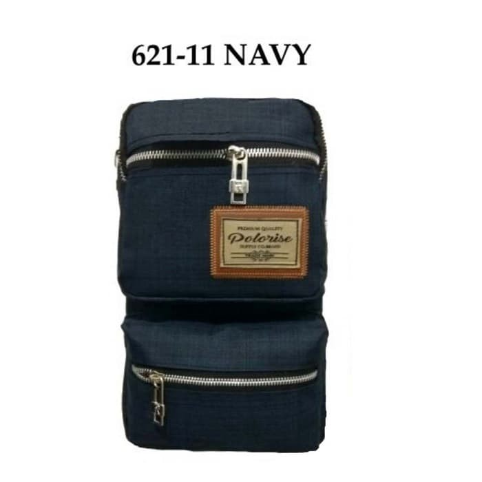 harga Polo rise tas shoulder bag pria-tas selempang pria-sbn 011 - navy Tokopedia.com