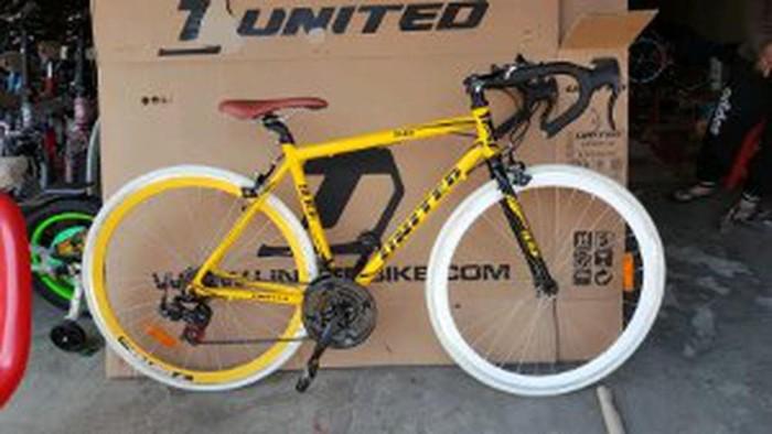 Jual Sepeda Fixie Balap United Slick 71 Modif Stang Balap Frame A B12fu114 Jakarta Selatan Syaddad1 Tokopedia
