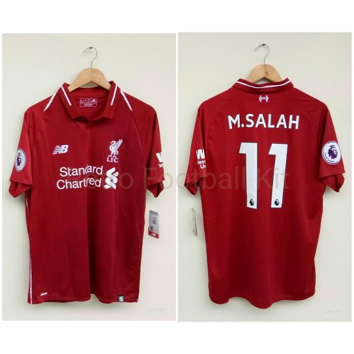 new styles 6e640 1c12a Jual Jersey Liverpool 2018/2019 Original Mohamed Salah 11 EPL - Kota  Tangerang Selatan - retro football kit | Tokopedia