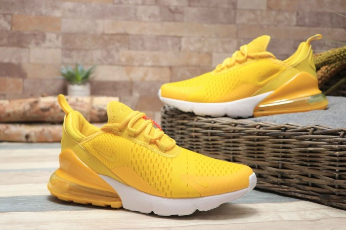 Jual sepatu sneakers running nike air max 270 bright yellow mango cewek Kuning, 37 DKI Jakarta Kang Kabayan | Tokopedia