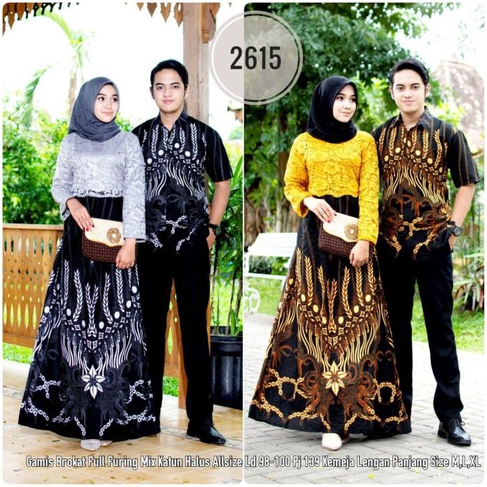 Jual Batik Couple Batik Sarimbit Gamis Brokat 2615 Kota Surakarta Anitaolshop Tokopedia