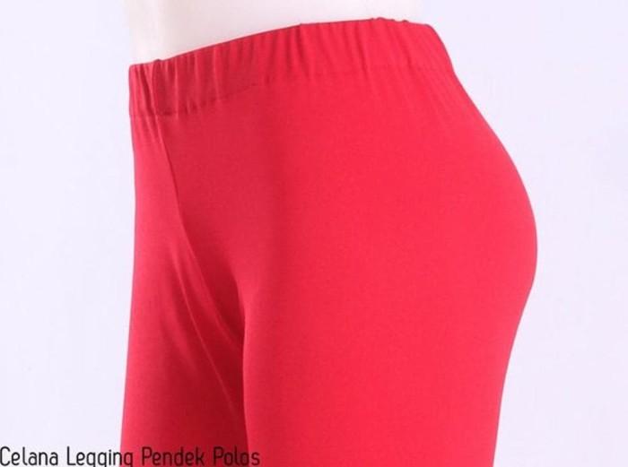 Jual Celana Legging Wanita Celana Pendek Grosir Celana Legging Pendek Polos Kab Pasuruan Yogi Store Tokopedia