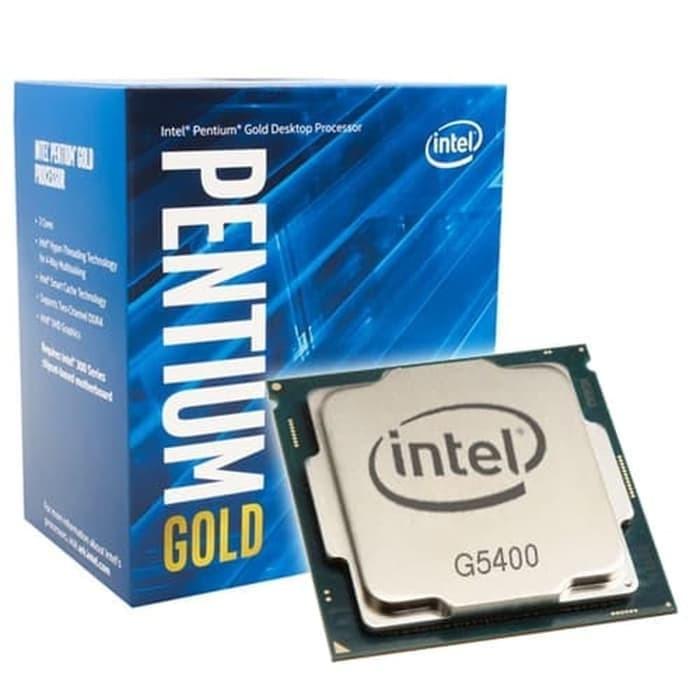 Foto Produk Processor Intel G5400 Gold 3.7GHz Cache socket 1151 Coffeelake Box dari daftar harga komputer