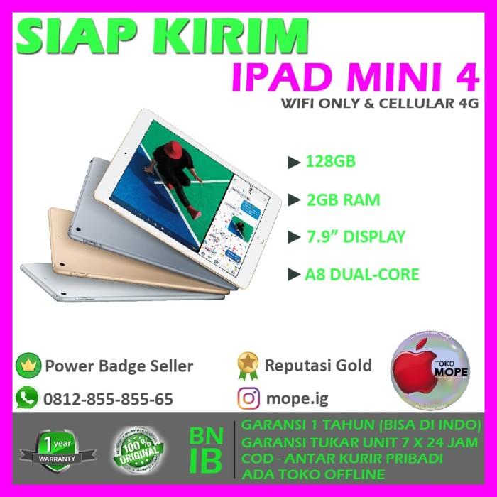 harga [promo] ipad mini 4 128gb wifi only blackgoldwhite Tokopedia.com