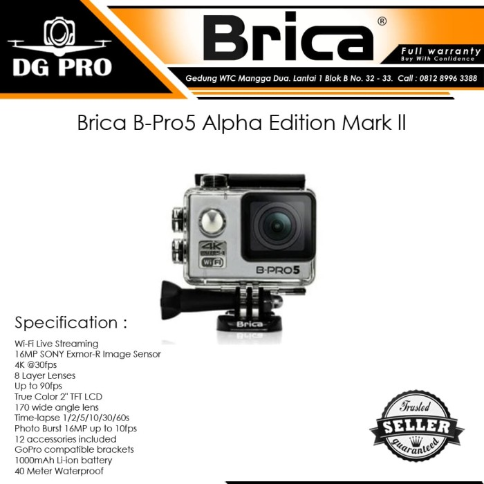 harga Brica b-pro5 alpha edition mark ll ; brica alpha edition mark 2 Tokopedia.com