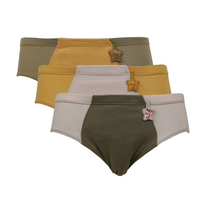 Foto Produk Isi 3 | Flykids | Celana Dalam Anak Laki | Underwear Anak | FK 520 - 4-5 tahun dari Flyman Nathalie Store