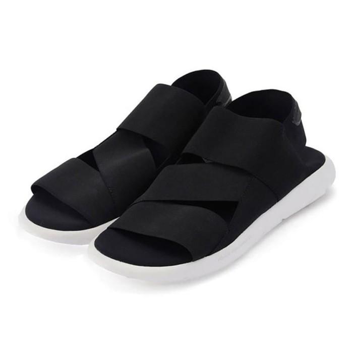 e5232bfee Jual Adidas Sandal Y3 Qasa Yohji Yamamoto Black White High Premium ...