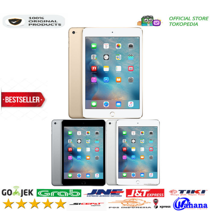 harga Ipad mini 4 128gb cell + wifi new !!! Tokopedia.com