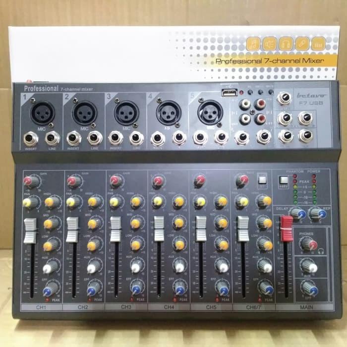 Jual Betavo F7 - Analog Audio Mixer 7 Channel Stereo - DKI Jakarta - AUDIO  THEORY | Tokopedia