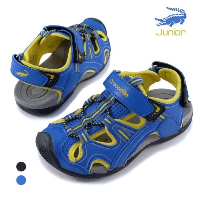 SL17321 Sepatu Sandal Anak Boy Shoes Original Crocodile