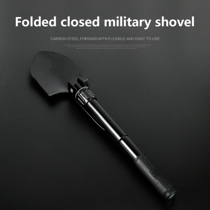 Portable Multifunctional Military Tactical Folding Shovel Spade Survival Tools