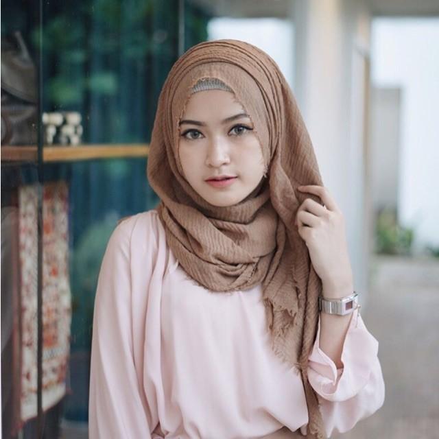 Cara Memakai Hijab Crinkle Hijabfest
